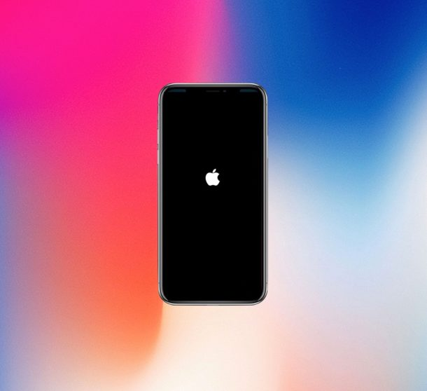 Force restarting iPhone X